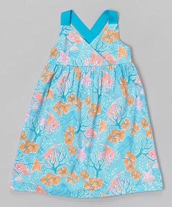 Marine Aqua Carrie Dress - Infant, Toddler & Girls