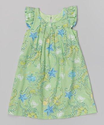 Sea Green Anna Dress - Infant & Girls