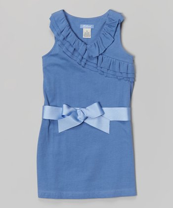 Periwinkle Michele Dress - Toddler & Girls