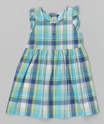 Bali Blue Plaid Molly Dress - Infant, Toddler & Girls