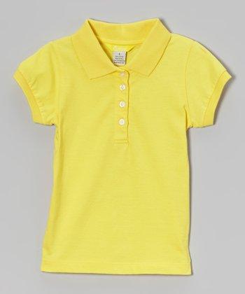 Banana Cap-Sleeve Polo - Toddler & Girls