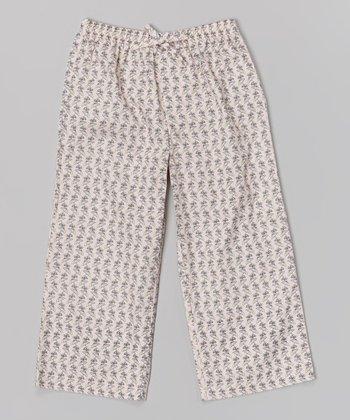 Light Pink Beach Pants - Girls
