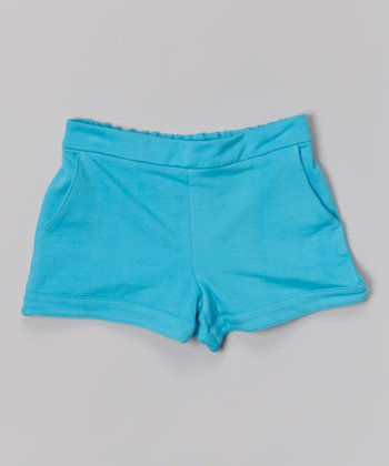 Blue Beach Shorts - Toddler & Girls
