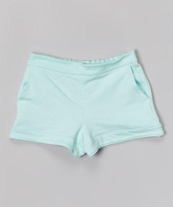 Mint Beach Shorts - Girls