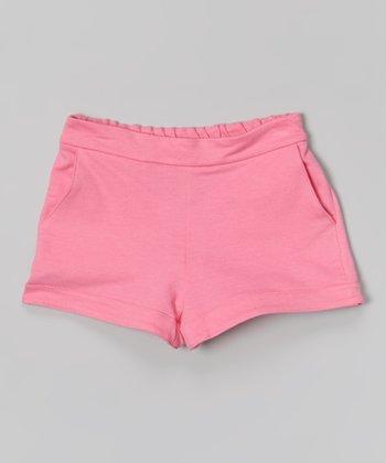 Preppy Pink Beach Shorts - Toddler & Girls