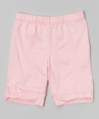 Light Pink Bermuda Shorts - Toddler & Girls