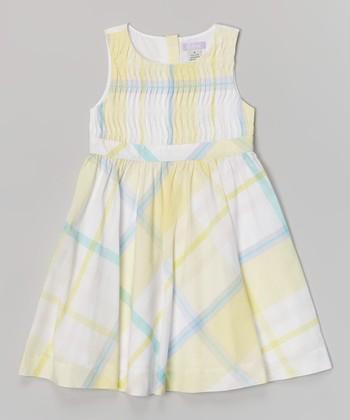Light Yellow Brooke Dress - Toddler & Girls