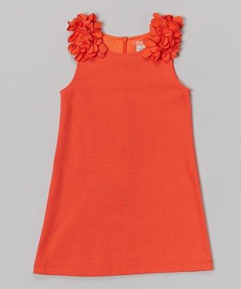 Orange Sally Dress - Infant, Toddler & Girls