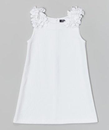 White Sally Dress - Infant, Toddler & Girls