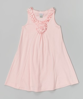 Light Pink Lauren Dress - Infant, Toddler & Girls