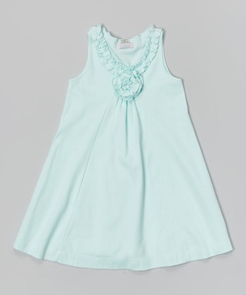 Mint Lauren Dress - Infant & Girls