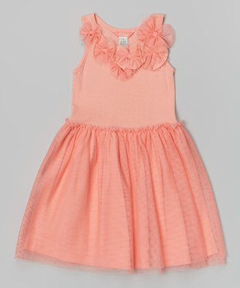 Coral Michele Dress - Infant & Toddler