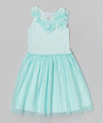 Mint Michele Dress - Infant & Girls