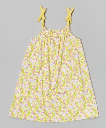 Banana Carley Ann Dress - Infant, Toddler & Girls