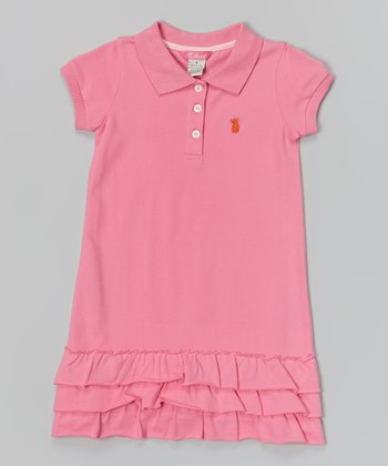 Pink Classic Polo Dress - Infant & Girls