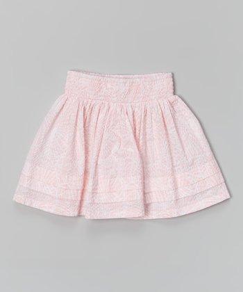 Light Pink Meg Skirt - Girls