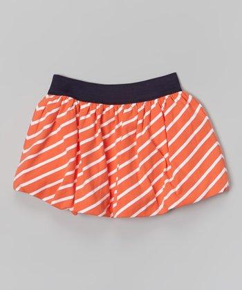 Orange Stripe Skirt - Toddler & Girls