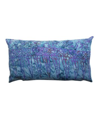 Blue & Purple Horizontal Tamarindo Throw Pillow