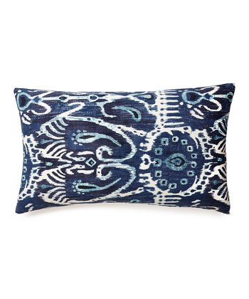 Blue Karma Collection Down Throw Pillow