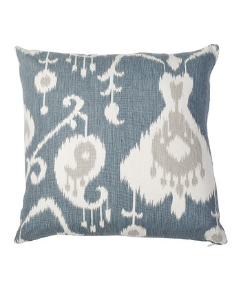 Blue Moddish Today Down Throw Pillow