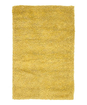 Yellow Frankie Wool Rug