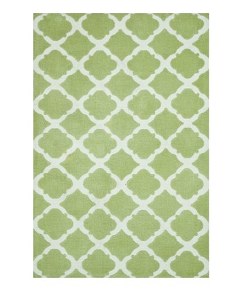 Diamond Green Piper Rug