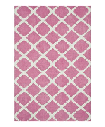 Pink Bubble Gum Piper Rug