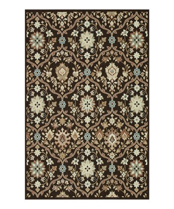 Chocolate Arbor Indoor/Outdoor Rug