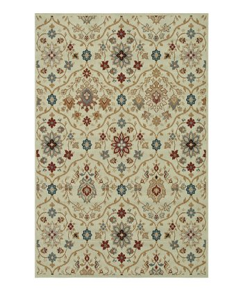 Ivory Arbor Indoor/Outdoor Rug