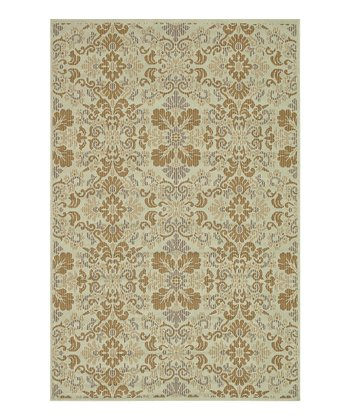 Ivory & Beige Arbor Indoor/Outdoor Rug