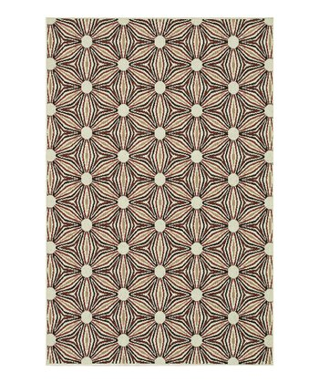 Ivory & Sunset Arbor Indoor/Outdoor Rug