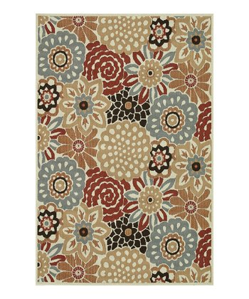 Floral Arbor Indoor/Outdoor Rug