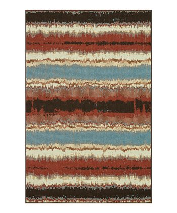 Flame Stripe Arbor Indoor/Outdoor Rug