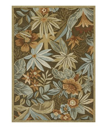 Brown Hemingway Atrium Indoor/Outdoor Rug