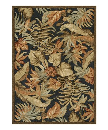 Charcoal Hemingway Atrium Indoor/Outdoor Rug