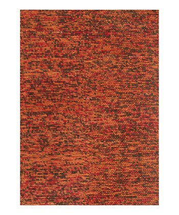 Brown & Rust Clyde Wool Rug