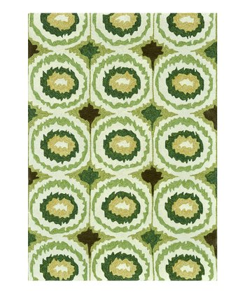 Lime Enzo Indoor/Outdoor Rug
