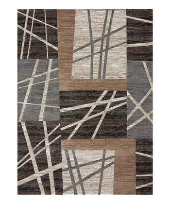 Ash & Brown Expression Rug