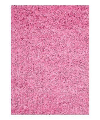 Pink Hera Shag Rug