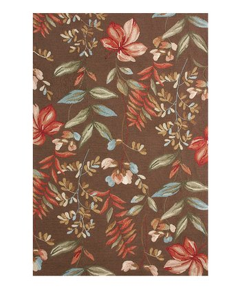 Brown In-Dora Indoor/Outdoor Rug