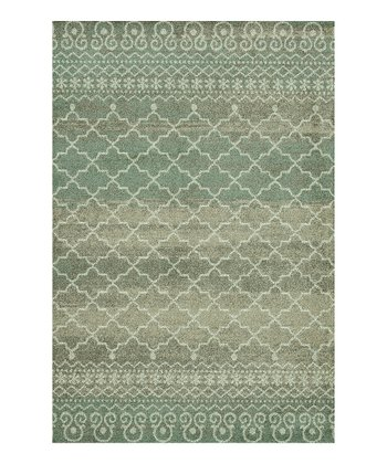 Sea & Taupe Revive Rug