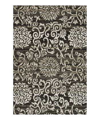 Charcoal & Beige Revive Rug