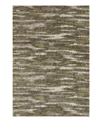 Green & Taupe Revive Rug