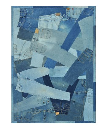 Denim Full Runway Rug -