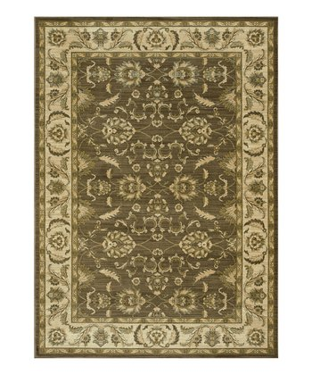 Brown & Ivory Rylan Rug