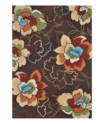 Brown Sunshine Indoor/Outdoor Rug