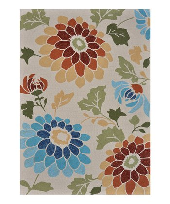 Ivory Sunshine Indoor/Outdoor Rug