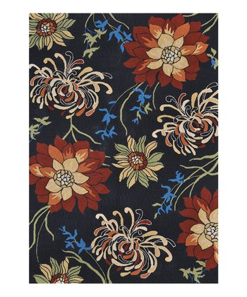 Black Sunshine Indoor/Outdoor Rug