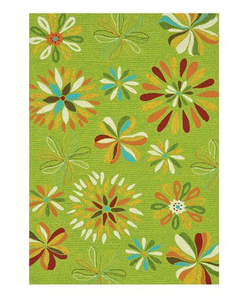 Fern Sunshine Indoor/Outdoor Rug