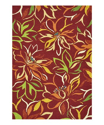 Crimson Sunshine Indoor/Outdoor Rug